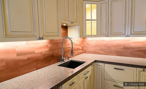 Kitchen Backsplash tiles colors Ideas 17