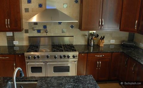 Kitchen Backsplash tiles colors Ideas 20