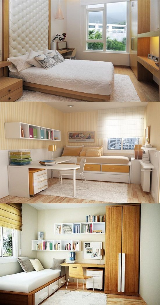 10 Design Tips for Small Bedrooms