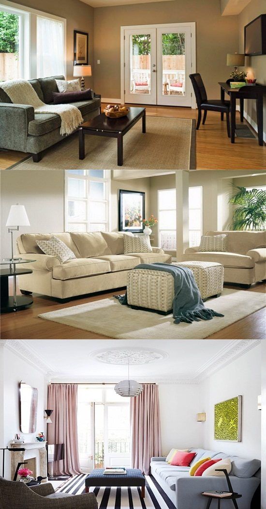9 Design Ideas for Small Living Rooms