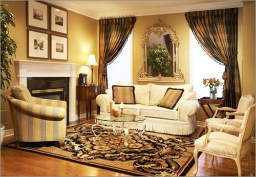 Living Room Window Treatment Ideas