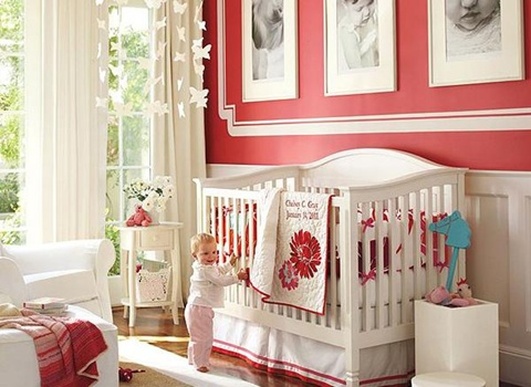 decorating a Baby Girl's Room 10