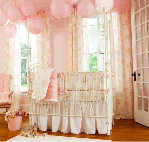 decorating a Baby Girl's Room 12