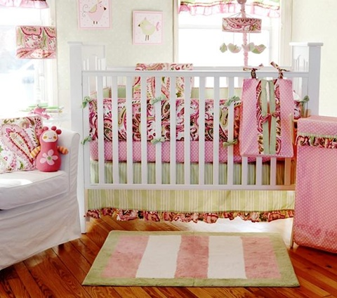 decorating a Baby Girl's Room 13