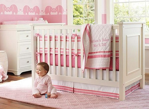 decorating a Baby Girl's Room 15