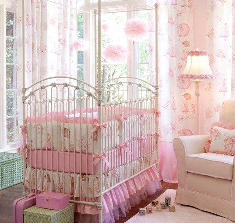 decorating a Baby Girl's Room 2