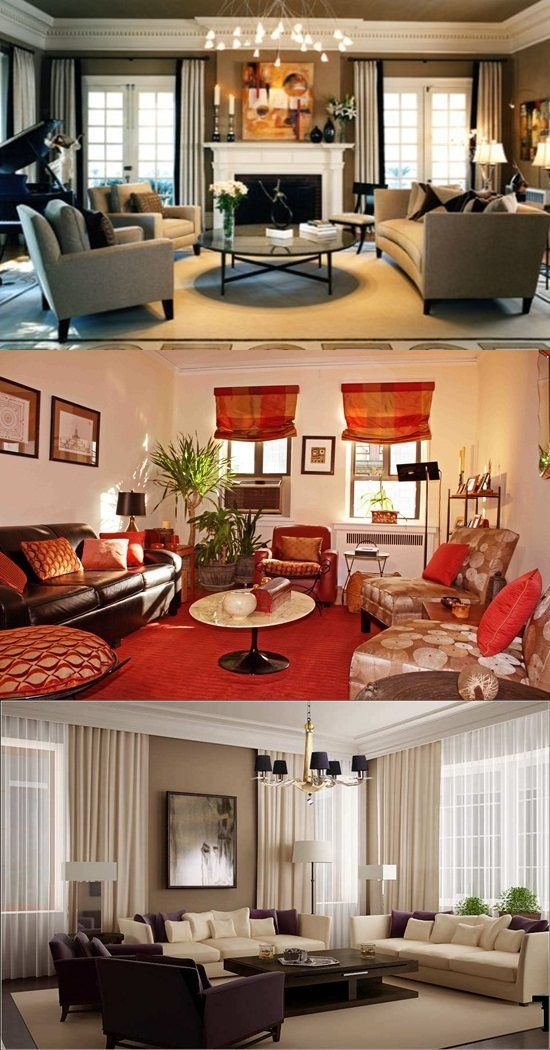 Decorating Tips For Living Room Brown Walls: Ideas For Decorating A Living Room On A Budget