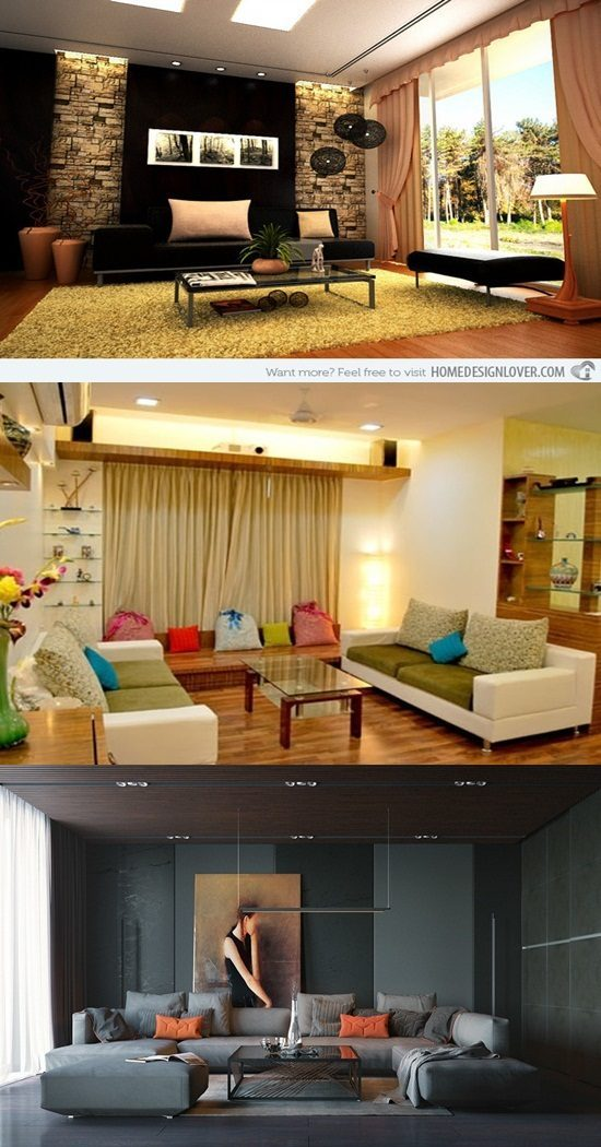 Modern Living Room Interiors Ideas