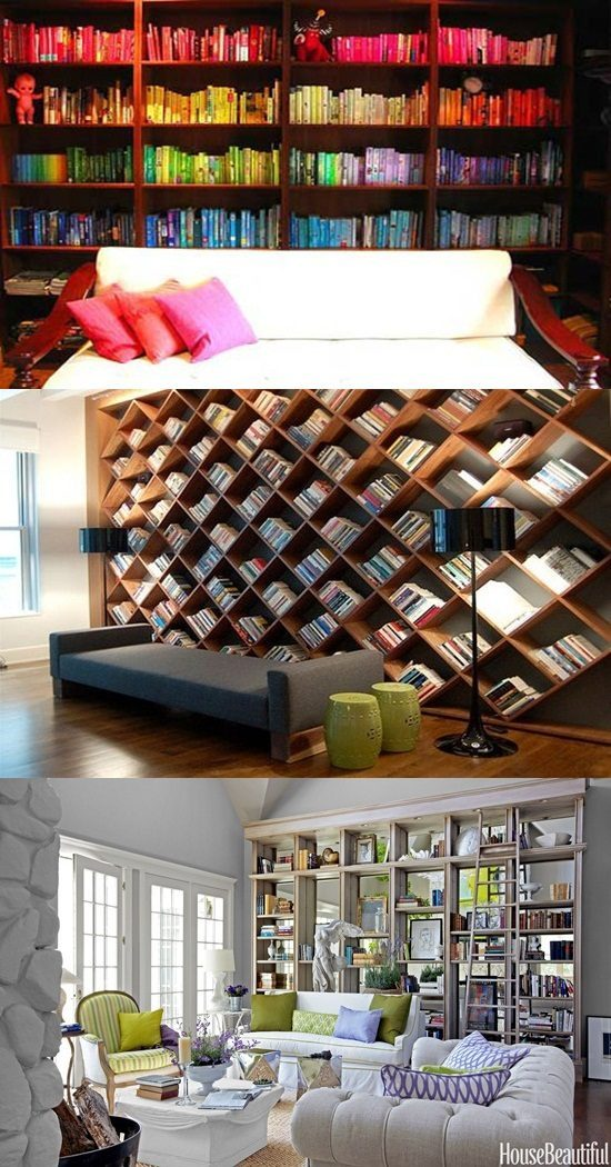 7 Brilliant Bookcase Designs