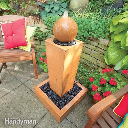 How to Choose the Right Garden Furniture and Fountain