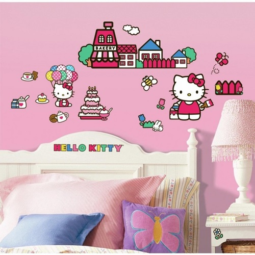 Ideas for Wall Sticker Designs for Teenage Girls