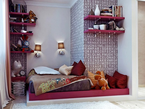 Adorable Girls' Bedroom Decorating Ideas