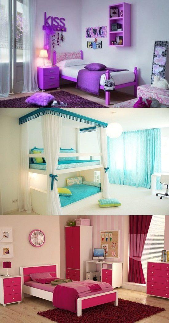 Cool Teen Girl S Bedroom Decorating Ideas