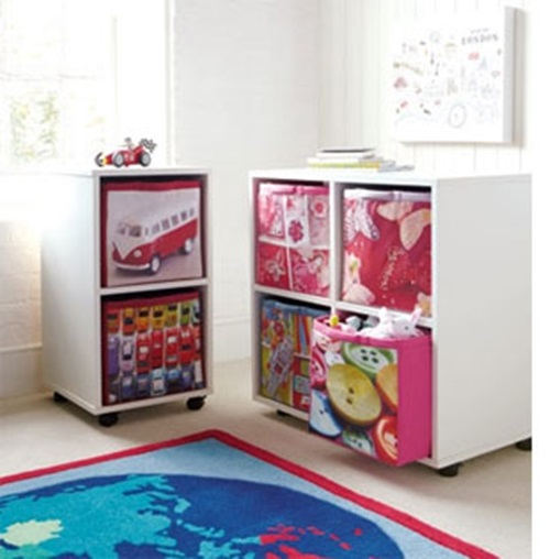 Inexpensive and practical Toy Storage Ideas