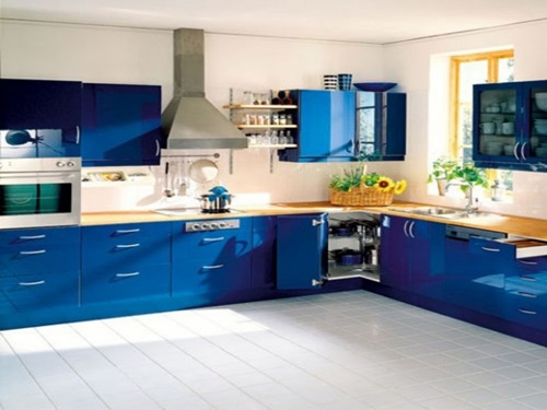 Common Kitchen Design Mistakes Overlooking Fillers And Panels: Modern Blue Kitchen Design Ideas
