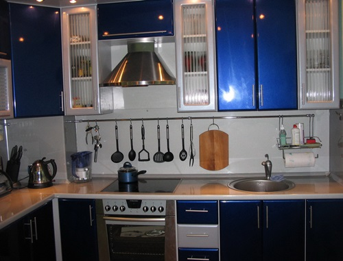 Modern Blue Kitchen Design Ideas