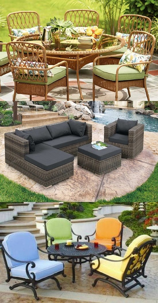 Patio Furniture Types and Materials