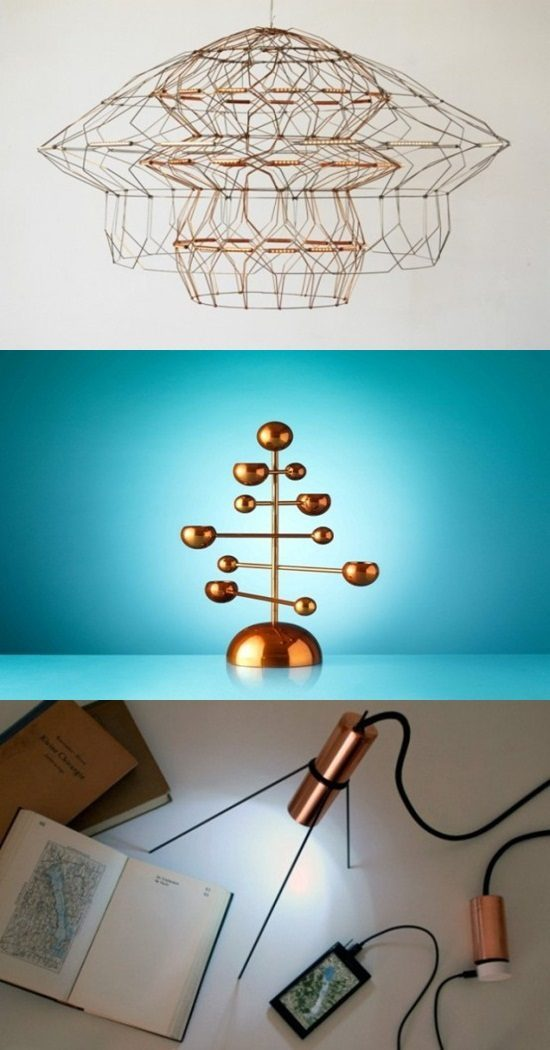 Awesome Copper Furniture Pieces
