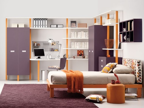 Perfect Colors for Your Teenager's Bedroom - Interior design