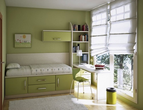 Teen Bedroom Design Ideas for Small Spaces