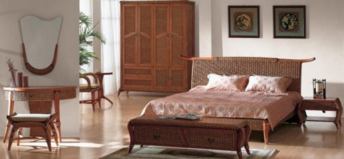 Benefits of using wicker bedroom furniture