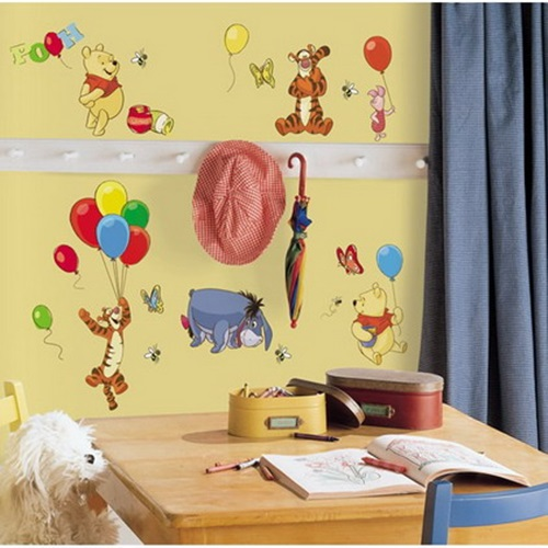 Cool Wall Stickers for a Kid\'s room Decoration - Interior design