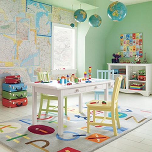 How to choose the ideal rug for your kids
