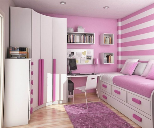 25 Beautiful and Charming Bedroom Design for Teenage Girls ...
