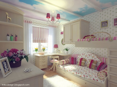 Lovely Teenage Girls Bedroom Decorating Ideas