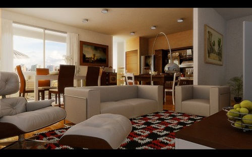 Perfect ways to decorate a living room with a dining area attache