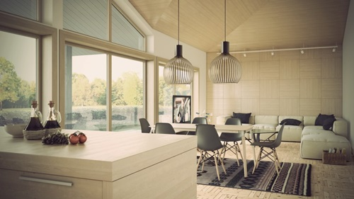 Perfect ways to decorate a living room with a dining area attached