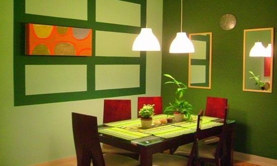 Small dining room design ideas interior design for Small dining area ideas