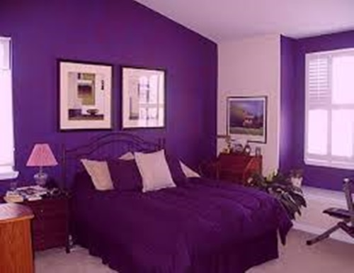 Stunning purple room decorating ideas