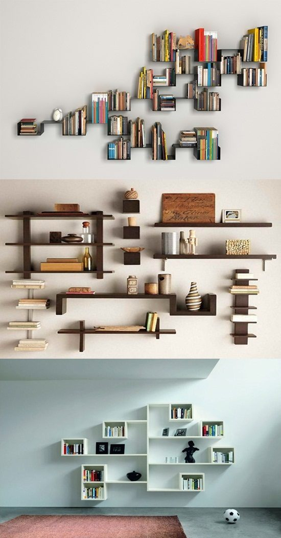 Wonderful Wall Shelving Ideas