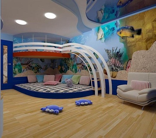 Ceiling Designs and fun decorating ideas for kids\' rooms