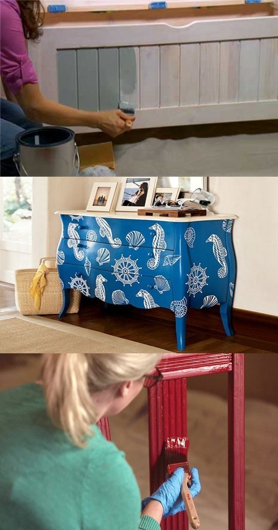 Essential tips and ideas on painting furniture