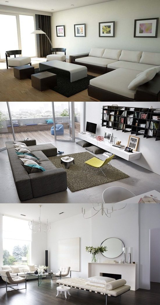 11 Coolest Modern Minimalist Living Room Interior Design ideas
