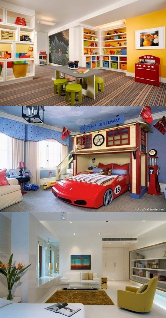 Innovative playroom interior design ideas