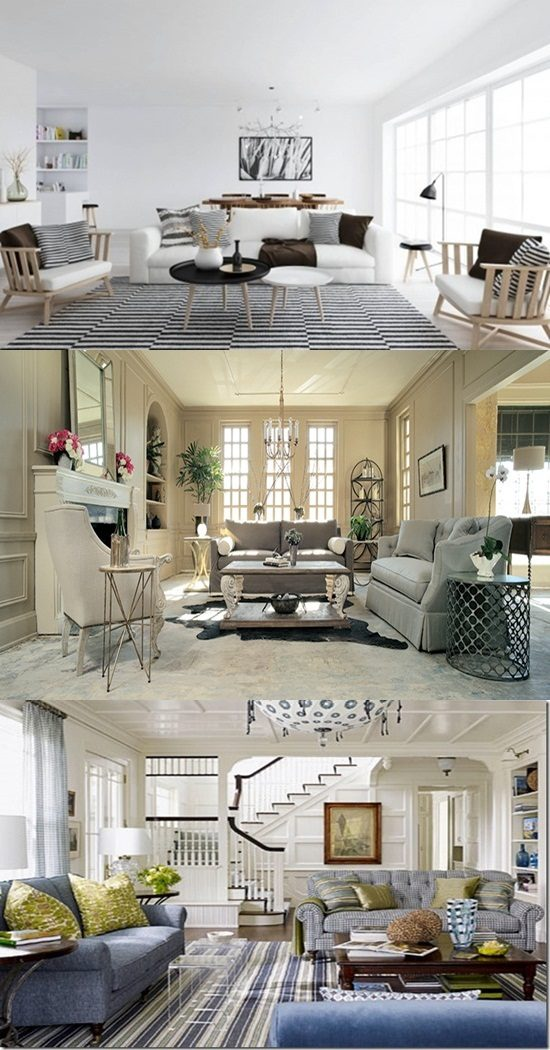 Mixture of Traditional and Modern Styles in your home