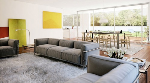 Beautiful ideas for a small Living Room