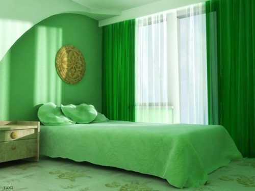 Calming green Bedroom design ideas 2