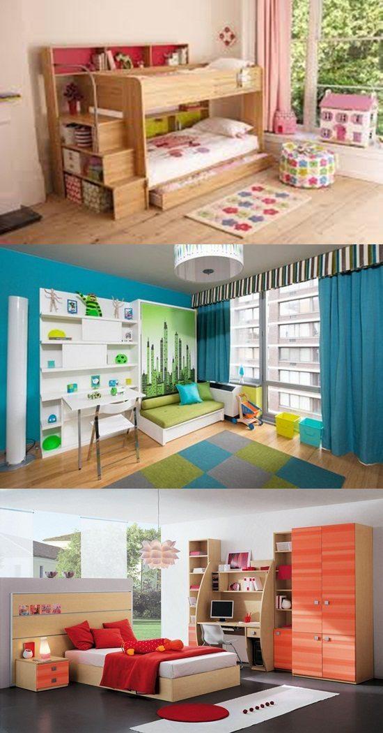 Innovative beds for narrow kids room