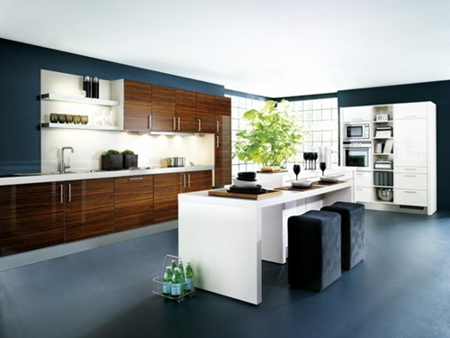 Kitchen Design for Large Space