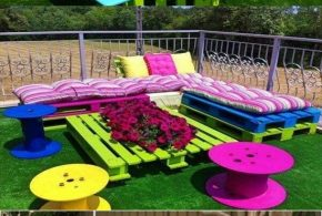 Outdoor Garden Furniture - Different Colors