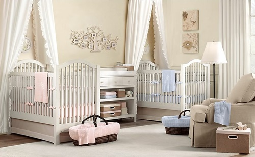 Popular girl baby bedding themes