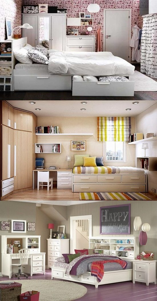 & Practical Storage Solutions for small Bedrooms