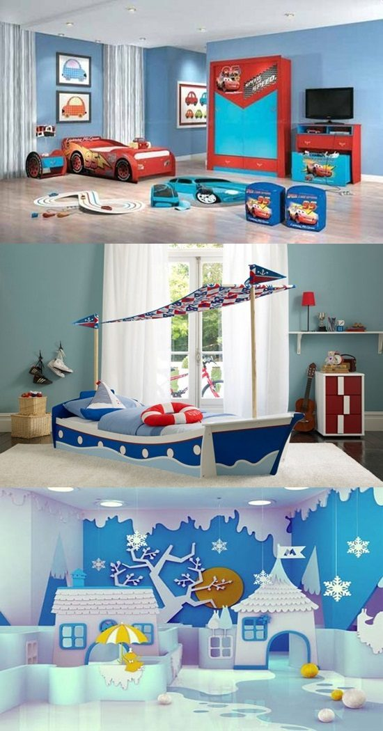 Wonderful Boys Bedrooms Interior Design