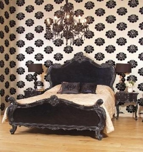 Gothic design for bedrooms