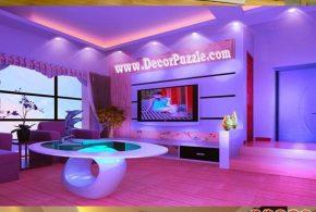 Living Room Lighting Ideas - Ceiling Spot