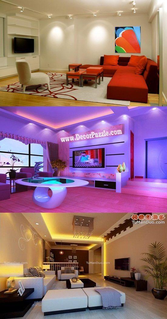 Living Room Lighting Ideas – Ceiling Spot